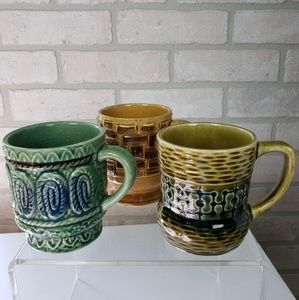 Other - ✨Set of 3 Vintage Mugs Made in Japan
